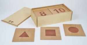 Zahlentafeln ausgelegt